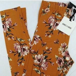 🆕 Agnes & Dora Mustard Floral Leggings! 🆕